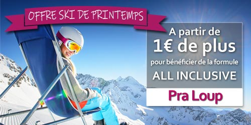 promotion POUR 1 € DE PLUS PARTEZ EN ALL INCLUSIVE !